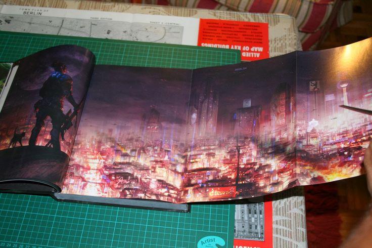 AVENTURAS EN LA MARCA DEL ESTE: Reseña fotográfica de Shadowrun 5th edition
