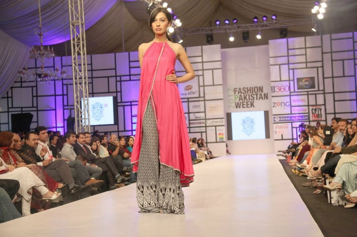 Designer: Umar Sayeed, Pakistan Fashion Week, 2012  Source: The Express Tribune