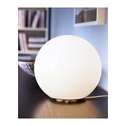 IKEA - FADO, Table lamp with LED bulb - would work great on small side table next to bed! or up on dresser or sideboard