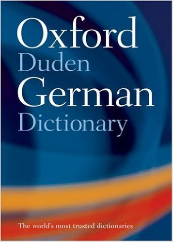 Oxford-Duden German Dictionary: With FREE SpeakGerman Pronunciation CD-ROM (available to UK, US, and Europe only): Amazon.co.uk: Oxford Dictionaries: 9780198609742: Books