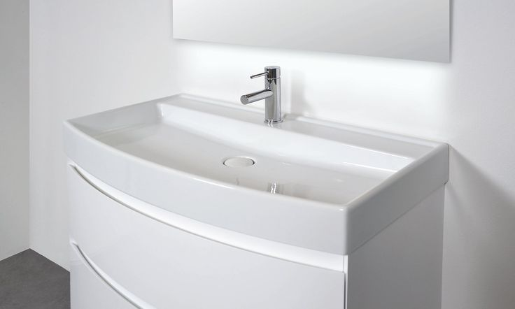 INK 50/53 ULTRA greeploos gelakt nauta - greeploos - gelakt - polystone - badkamer - wastafel - ink - spiegelkast - badjas - sanibell - badmeubel - badkamermeubel - bliss elements