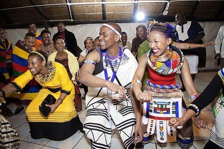 South AFrican Wedding-dancing