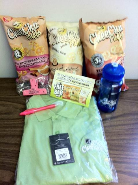 Win A $100 CheeCha Puffs Prize Pack - Come To The ZWAP Father's Day Twitter Party For Your Chance To Win!  http://www.cheecha.ca/