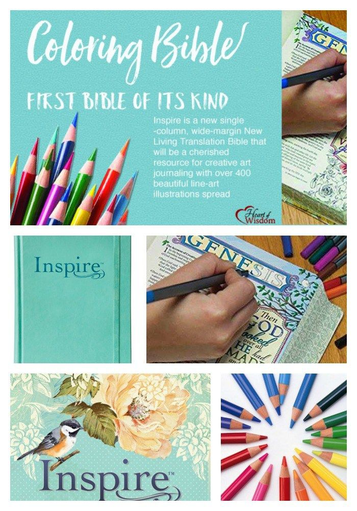 Do It Yourself Home Design: Inspire, The First Coloring Bible & 20+ #FREE PRINTABLE