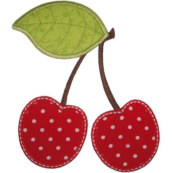 Cherries Applique