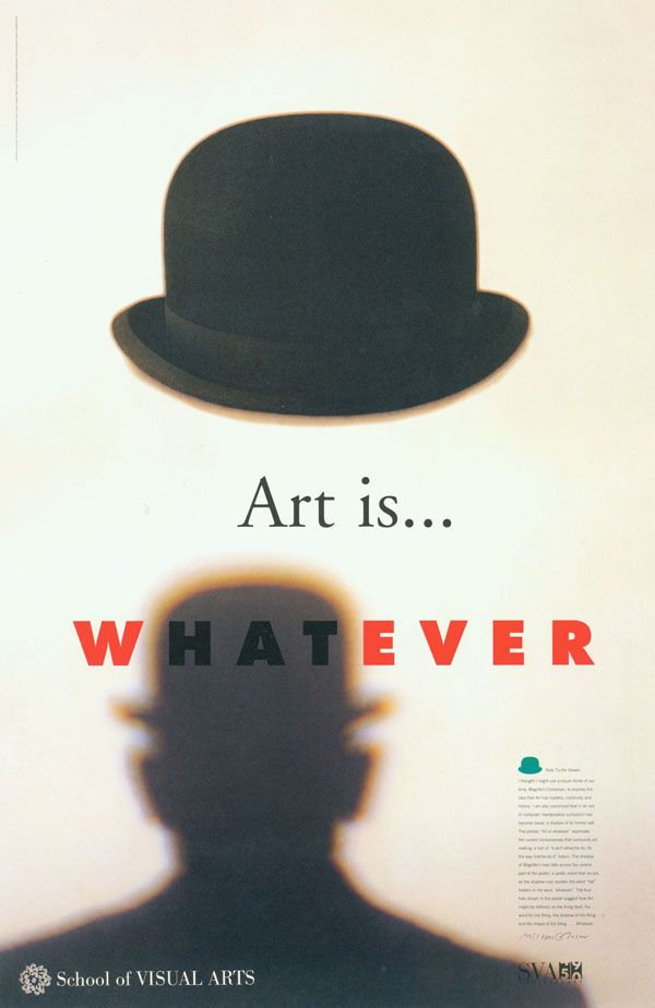 Milton Glaser - Art is Whatever; watch his TED talk, the story and his explanation for this piece is brilliant