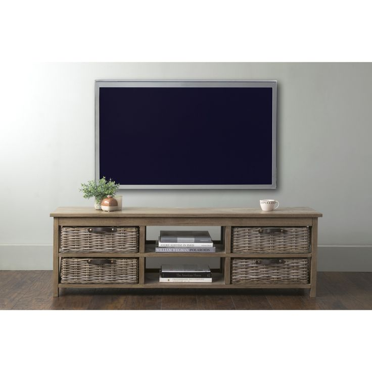 East At Main's Lovell Brown Rectangle Mahogany TV Stand (Lovell-406-GR)