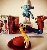 The bad smurf...8D