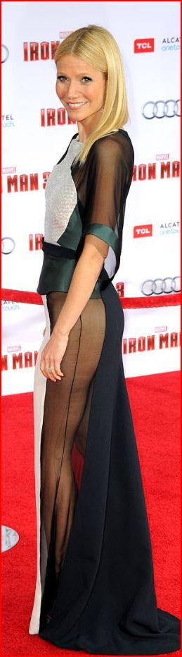 Gwyneth Paltrow. Гвинет Пэлтроу в платье Antonio Berardi на голливудской премьере. Гви́нет Кейт Пэ́лтроу — американская актриса и певица. Обладательница премий «Оскар» и «Золотой глобус».  Родилась 27 сентября 1972 г.