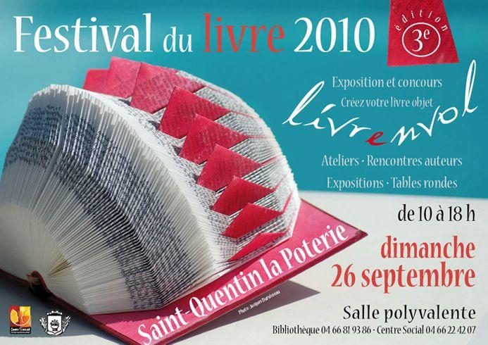 Festival du Livre 2010. Saint-Quentin-la-Poterie