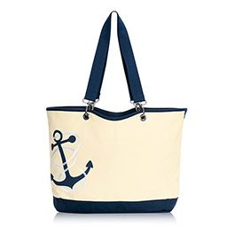 New for Spring 2015 - The Anchor Canvas Crew Tote from Thirty-One $65.00