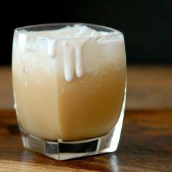 easy iced coconut chai tea latte
