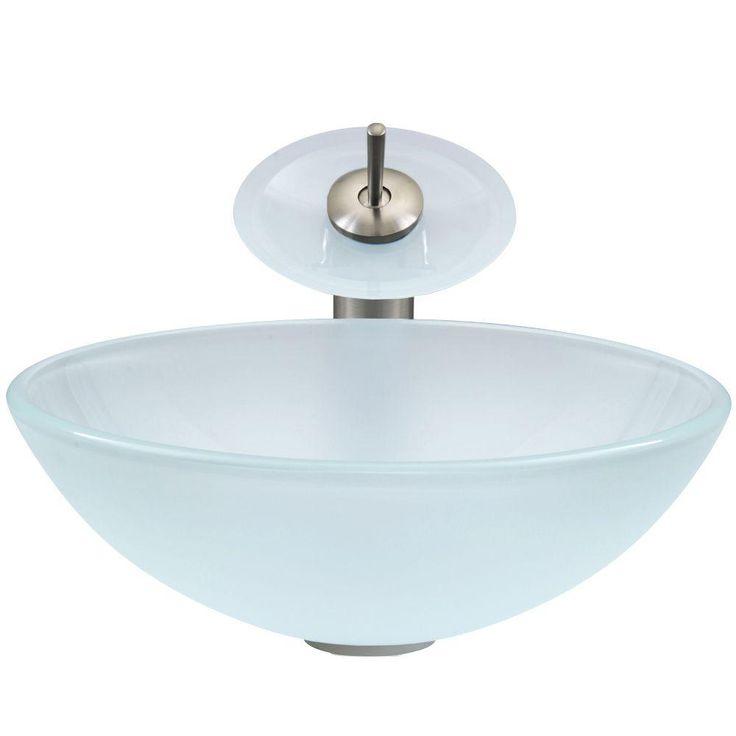 Best 25+ Waterfall faucet ideas on Pinterest Glass sink, Glass