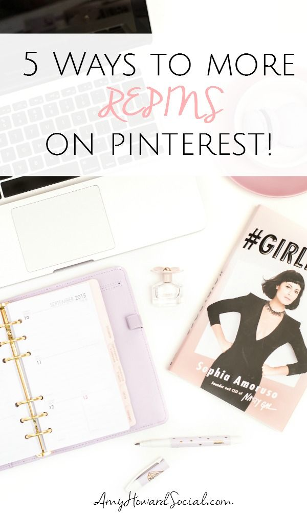 5 Ways to More Repins on Pinterest. Want more pins on Pinterest? Follow these 5 quick ways to more repins! #repins