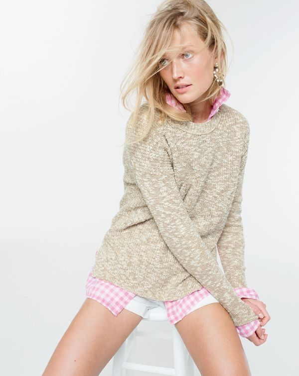 Best 25  Marled sweater ideas on Pinterest | Long sweater outfits ...