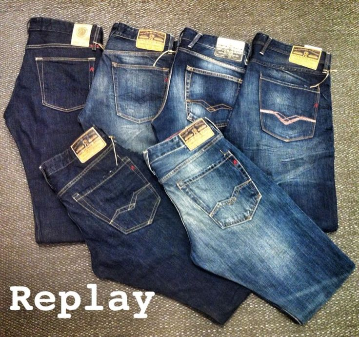 Jeans by Replay  #Denim