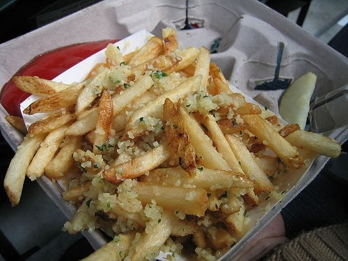 Grounders Garlic Fries from Safeco Field, Seattle, WA. Go Mariners!