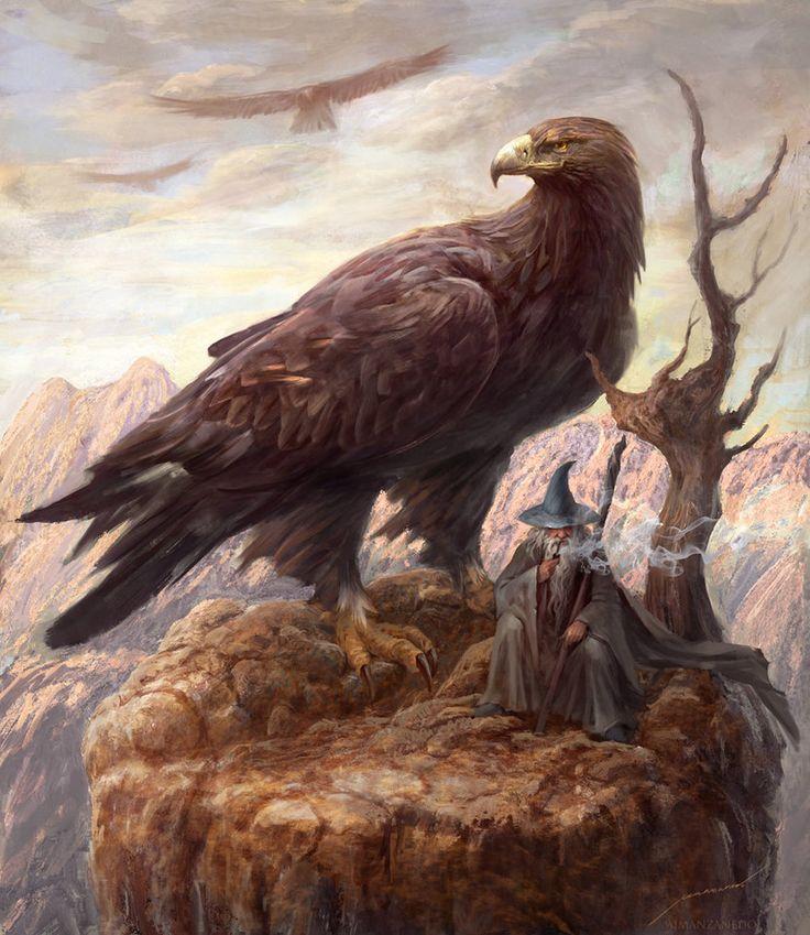 Gwaihir the Windlord by Manzanedo