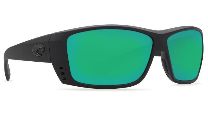 Costa Del Mar Cat Cay 580G Blackout/Green Mirror Polarized Sunglasses