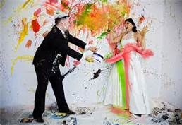 Trash the dress -