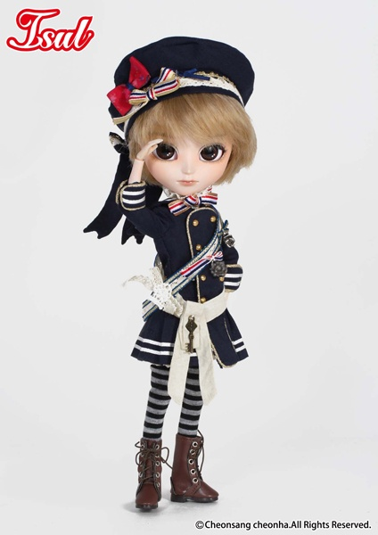 Isul Lir is awaiting high tide so he can set sail for undiscovered lands. What riches will he uncover? #pullip #isul #lir #sailor doll