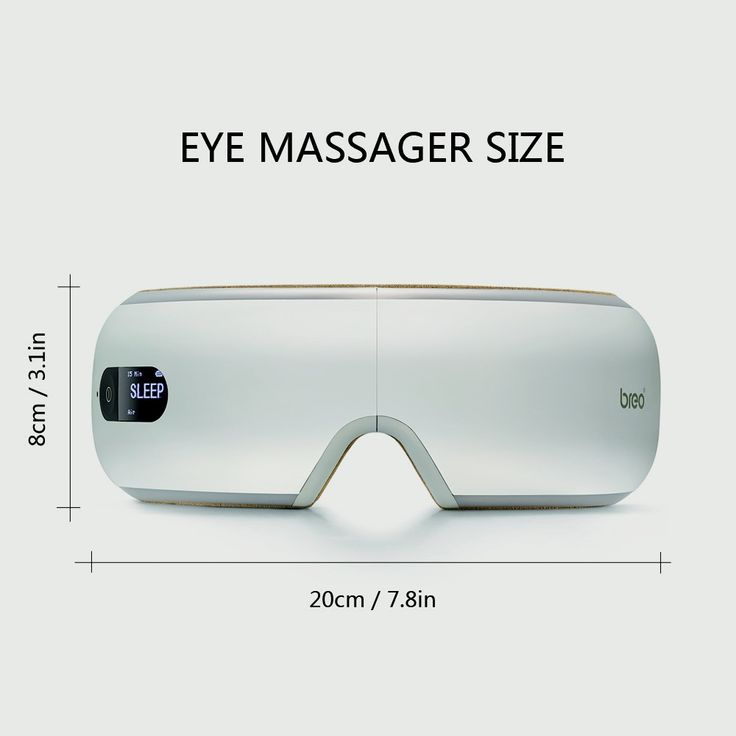 Breo Portable Eye Massager Machine FDA & ROHS & FCC & CE Approved Sales Online eu - Tomtop
