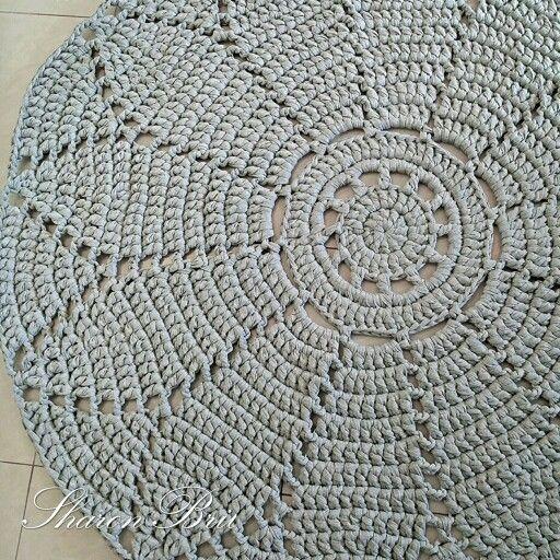 Crochet rug https://m.facebook.com/pitaya.sharonbril