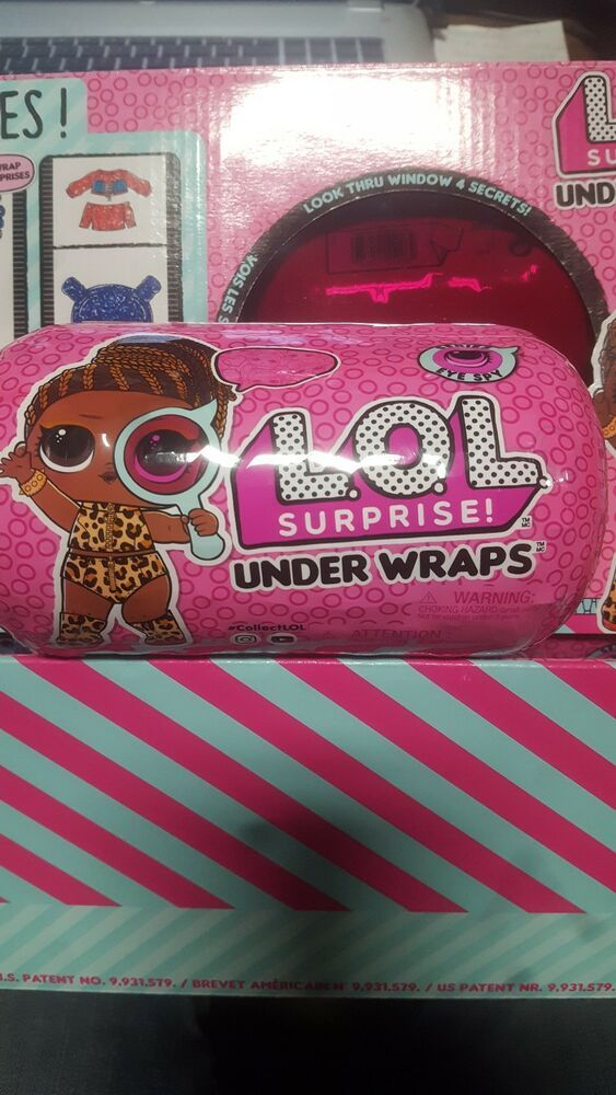 LOL Surprise Under Wraps Doll Series 4 Wave 2-100/% Authentic NEW FREE S/&H