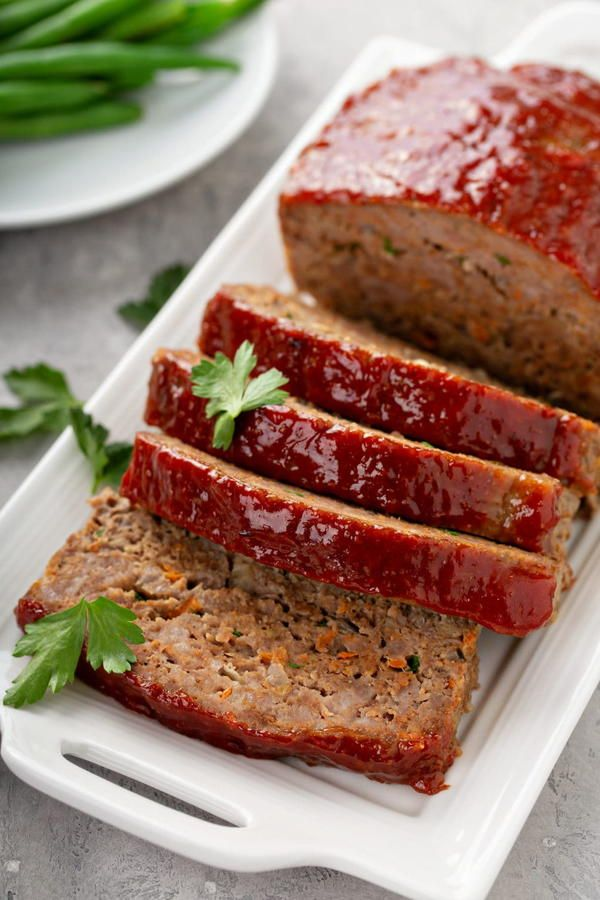 Classic Meatloaf Recipe In 2020 Classic Meatloaf Beef Recipes Easy Recipes