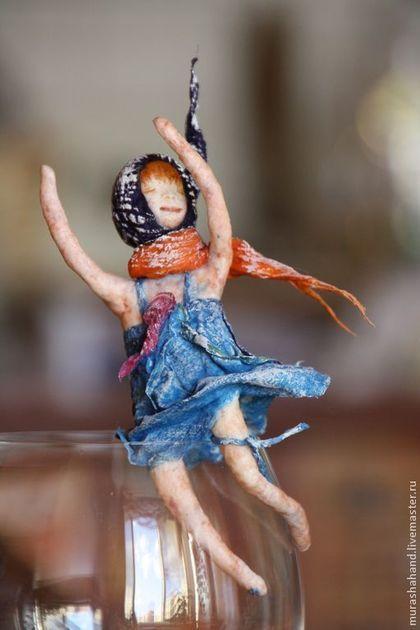 Третья из коллекции Dreams ( ватная игрушка) - ватная игрушка,новогодняя ватная игрушка