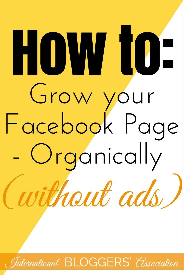 How to Grow your Facebook Page - Organically (without ads) - If you're a blogger or a business, then here's a simple fact: you need to grow your Facebook page. And growing it organically is ideal for any budget. Despite being able to relate well with Herm