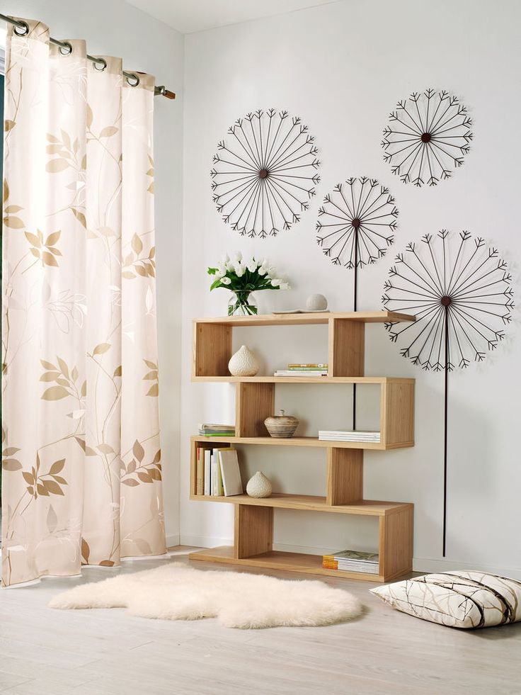 conseils decoration interieure sol parquet ambiance naturel meuble etagere bois originale