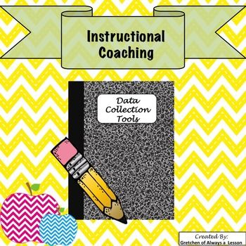 This packet of data collection tools will help coaches improve teacher's instructional effectiveness in the classroom. Includes: Tools + Teacher Reflection Sheets on the following topics: -Questioning -Student Engagement -Teacher/Student Actions -Addressing Misbehaviors -Content Alignment If you like this product, you might also like: Coaching Cycle Visual Staff Survey Goal Setting Meeting Classroom Observation Notes Pre-Observation Notes Observation Debrief Discussion Format Coach F...