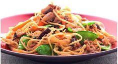 Les nouilles Shanghai referment un trésor de saveurs exquises grâce à la parfaite combinaison des épices et des ingrédients utilisés.