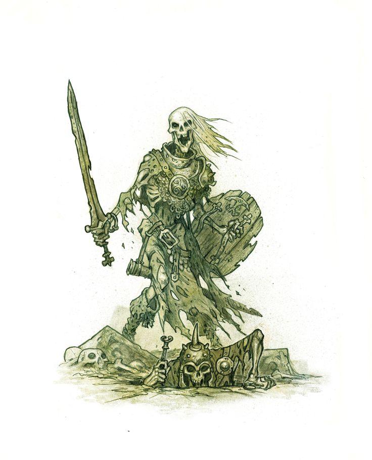 ArtStation - Skeletons, Johan Egerkrans