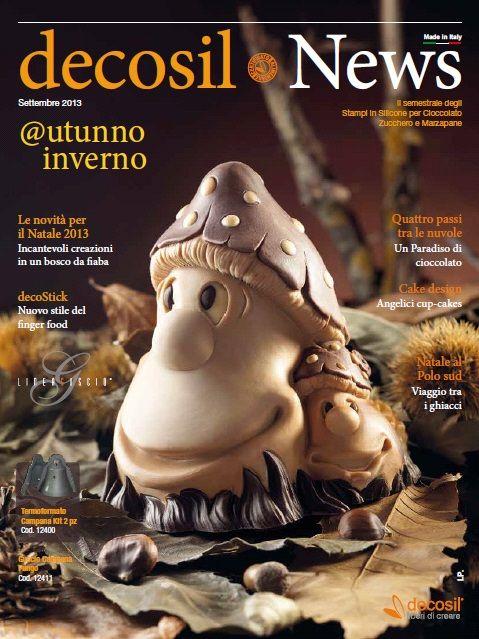 #decosil News autunno & inverno 2013 - la raccolta delle nuove proposte per il 2013 degli #stampiinsilicone alimentare professionali 3D per #cioccolato, zucchero e gelato.