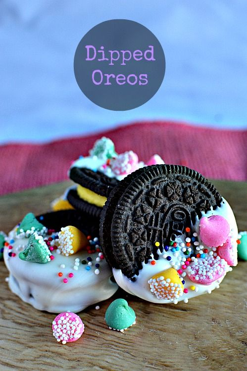 300 best easter images by tracey laiken snacks by the lb on dipped oreos for spring easy and colorful the kids would love these negle Image collections