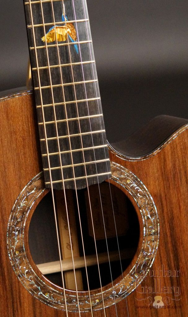 Laurie Williams African Blackwood Kiwi Guitar
