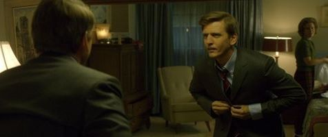 Barry Pepper as Robert F. Kennedy and Kristin Booth as Ethel Kennedy in The Kennedys