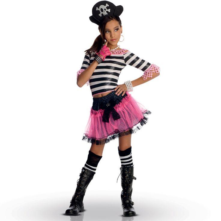 Déguisement de miss pirate, super fashion ! Annikids