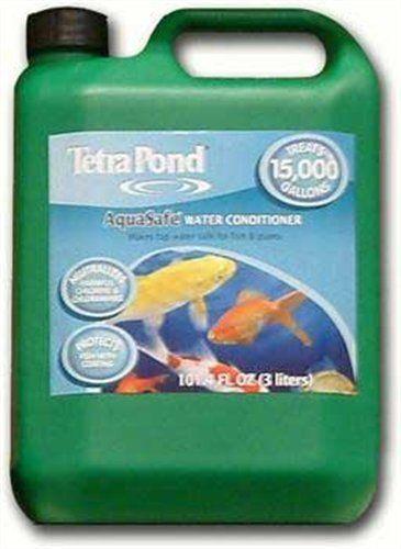Tetra 15000-Gallon Pond AquaSafe Treats, 101.4-Ounce, 3-Liter by Tetra. $47.99. Save 65%!