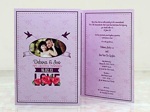 Konsep Undangan Pernikahan Indonesia - Wedding Invitation 3