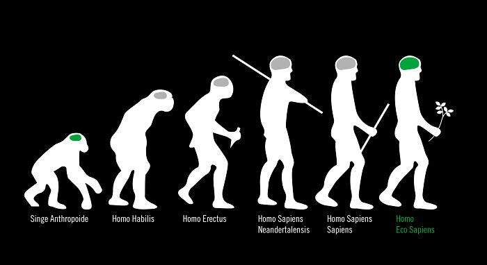 Evolution ofv the Homo Sapiens - There is still hope ... ♥ | © Iveta P