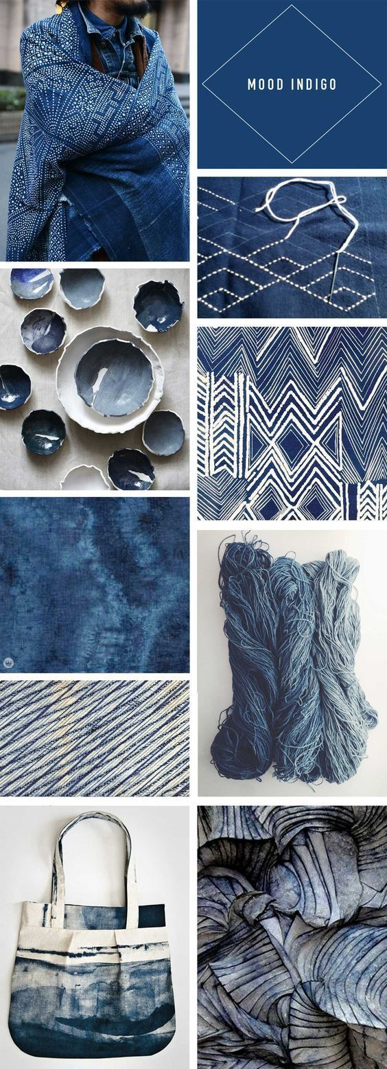 Trend Story: Going deep with indigo - Think.Make.Share.