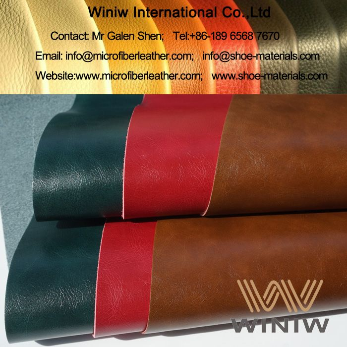 Sofa Leather Furniture Supplier In China Winiw Supply High Quality Microfiber Pu Synthetic Faux Upholstery Fabric For