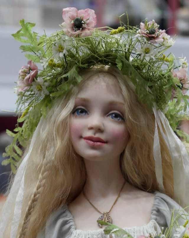950 Best Images About Beautiful Art Dolls On Pinterest