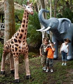 7u0027 Lifelike Inflatable Giraffe