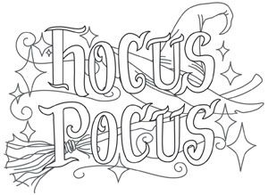 tricks treats hocus pocus urban threads unique and awesome embroidery designs