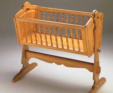 Free Baby Cradle Patterns | ... Baby Cradle so the stand can be easily disassembled for easy storage