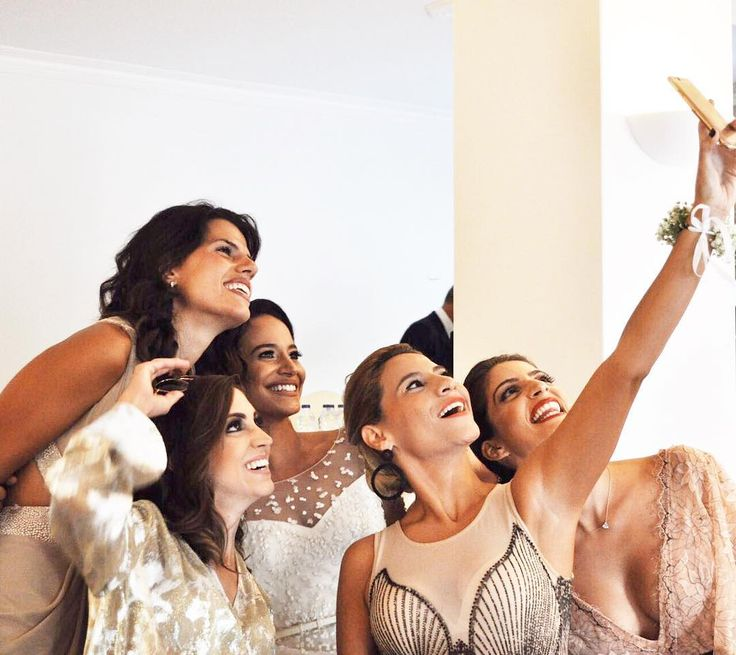 It is not what we have in life but WHO we have in our life that matters.  Our beautiful bride @valytso with her very special friends!  #primaliciabrides #realbride #eliesaab #bridal #primalicia #happy